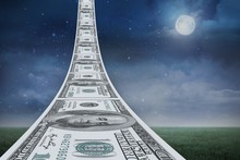 Composite Image Of Dollar Road