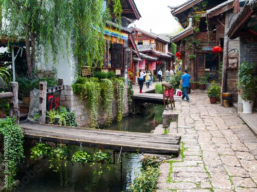 Tuinposter China Old Town of Lijiang