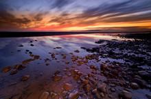 Allonby Bay Sunset, Solway Fir...