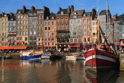 Ingelijste posters Amsterdam Vieux bassin d'Honfleur, France