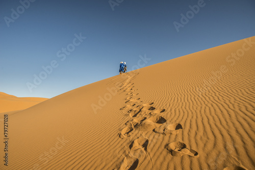 Foto op Canvas Marokko Deserto 2