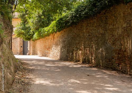 Papiers peints Retro Gradara, Pesaro e Urbino, Marche, Italia
