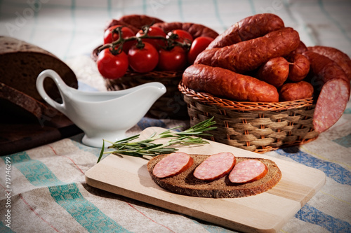 Fényképezés  sausage