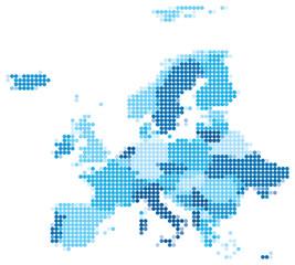 fototapeta europa kropki