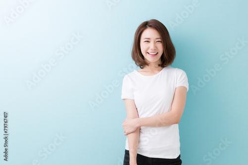 Photo 笑顔の女性