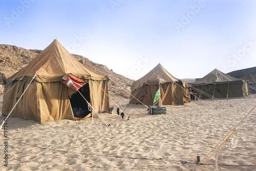Fotografía Camp in Sahara