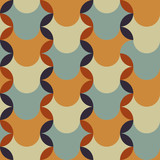 abstract retro geometric pattern for design - 79784465