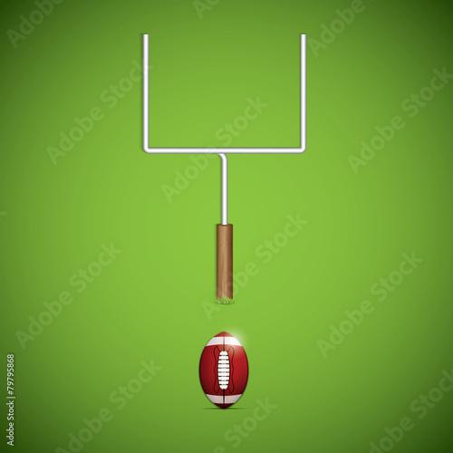 Fotografia, Obraz  American football