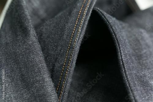 Fotografía  Selvedge denim jeans closeups