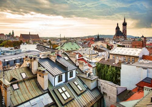 Fototapeta europe city view obraz