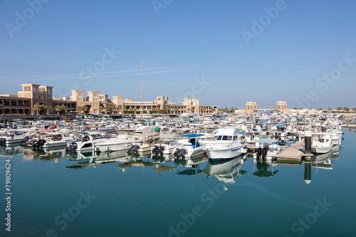 Foto op Plexiglas Arctica Sharq Marina in Kuwait City, Middle East