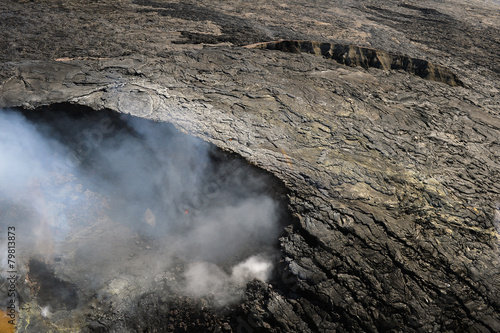 In de dag Vulkaan Aerial view of Kilauea volcano in Big island, Hawaii-3