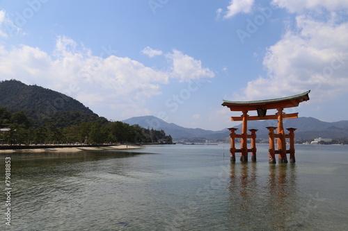 Foto op Canvas Japan 宮島
