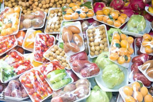 Foto op Aluminium Vruchten fruits and vegetables
