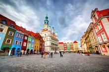 Poznan, Posen Market Square, O...