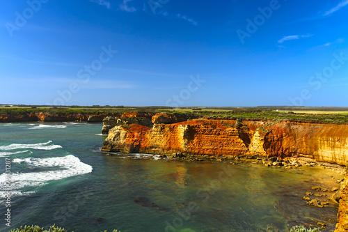 Poster Afrique du Sud Limestone Cliffs