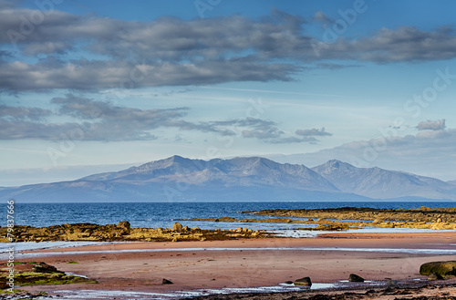 The Isle of Arran Canvas Print