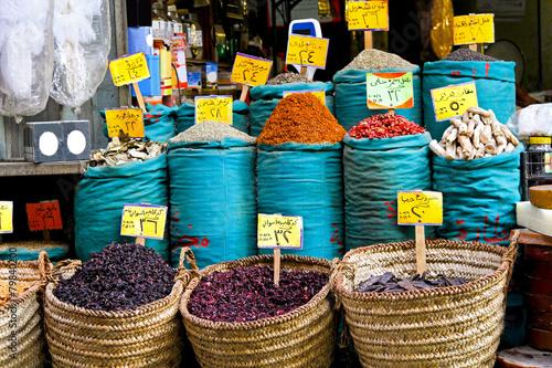 Tuinposter Egypte Spices