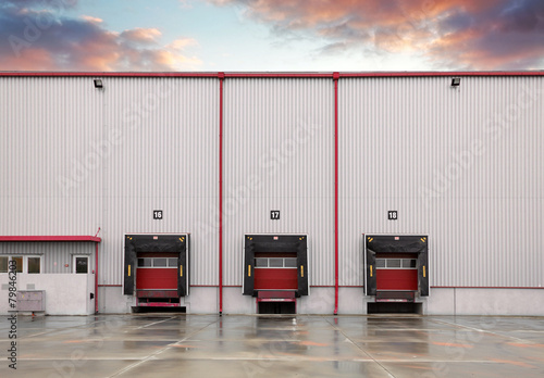Fotomural Loading docks
