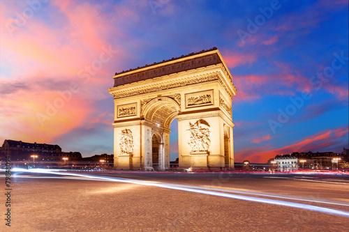 Papiers peints Paris Paris, Arc de Triumph, France