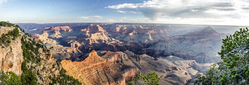 Grand Canyon Panorama Sonnenaufgang
