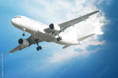 fototapeta na drzwi i meble Samolot
