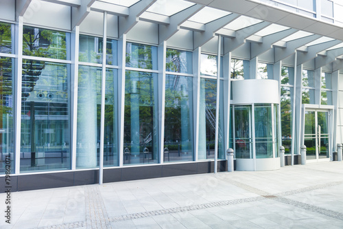 Fotografía  Eingang - modernes Gebäude - Deutschland