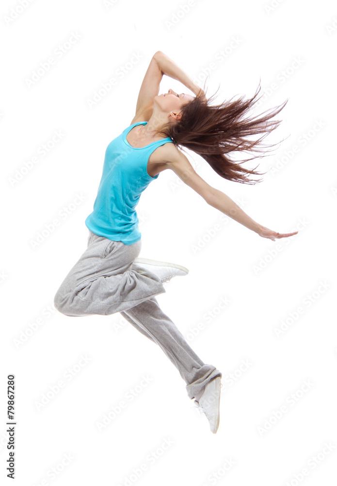 Fotografía Nueva bastante moderno delgado bailarín de estilo hip-hop ...