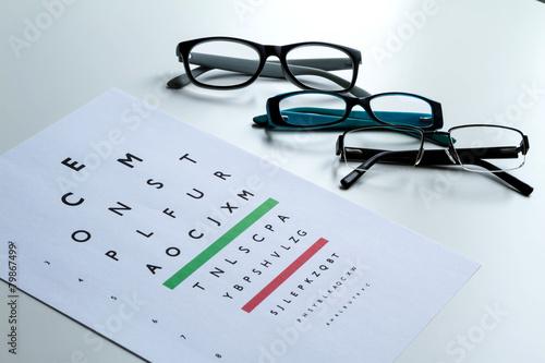 Fotografía  Eyes Test.