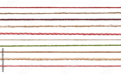Fotografia, Obraz wool string rope cord cable line