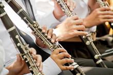 Classical Musician Clarinet Pl...