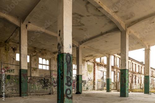 Fototapeta abandoned factory obraz