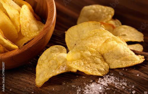 Obraz na plátně  Patatine fritu