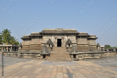 Photo  Chennakeshava Hindu Temple in Belur, India