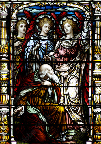 Foto  Abraham and the three angels