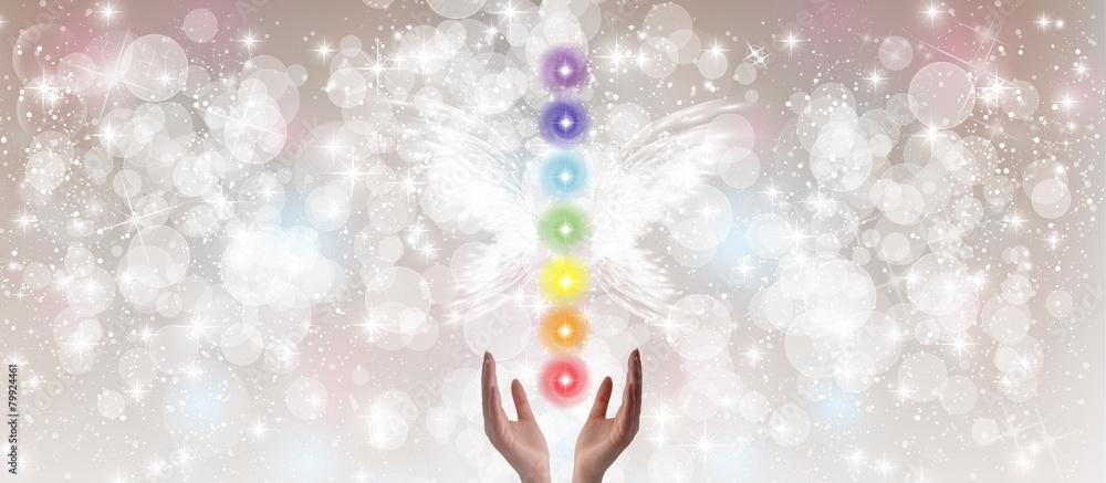 Photo  Healing Hands - The Seven Chakras