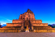 Leinwanddruck Bild - Ancient pagoda at Wat Chedi Luang in Chiangmai province,Thailand
