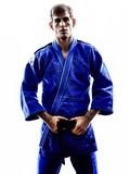 Młody zawodnik Judo
