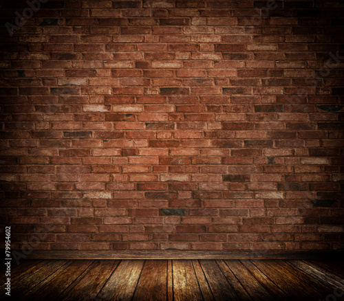 Deurstickers Baksteen muur Bricks wall background.
