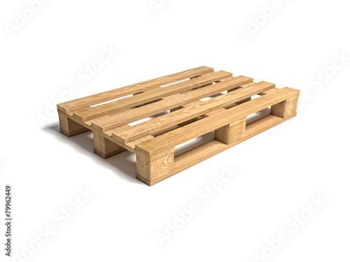 Fotografie, Obraz  Dřevěných palet