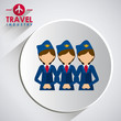 Travel icon design