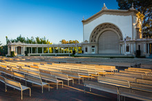 Spreckels Organ Pavillion, In Balboa Park, San Diego, California