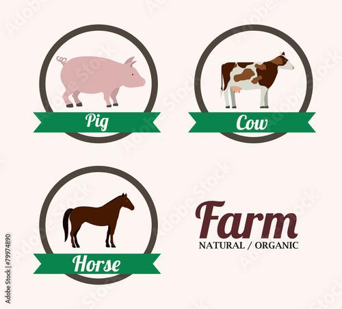 Fotografie, Obraz  Farm Food design