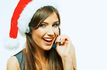 Santa Woman Call Center Operat...
