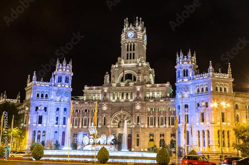In de dag Madrid Cibeles fountain in Madrid