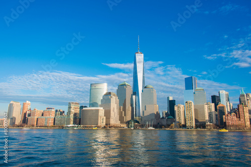 Photo  Panorama of downtown Manhattan