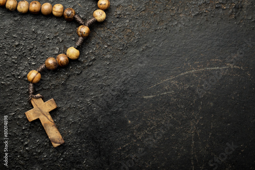 Canvas-taulu rosary beads