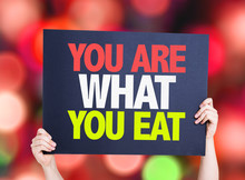 You Are What You Eat Card With...