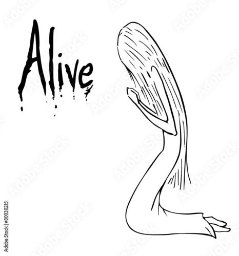 Alive cartoon #80030215