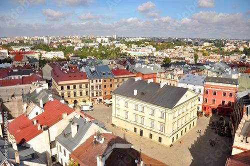 Stare Miasto, Lublin, widok z lotu ptaka © milena1990